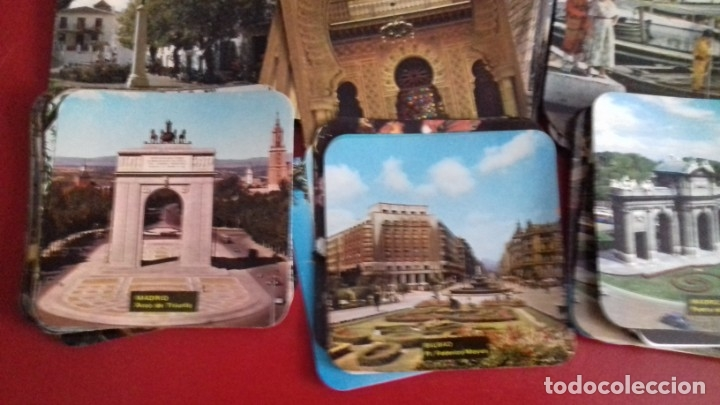 Postales: Colección 260 Tarjetas postales tipo posavasos de imagenes de Provincias Españolas. tauromaquia, pin - Foto 6 - 176534457