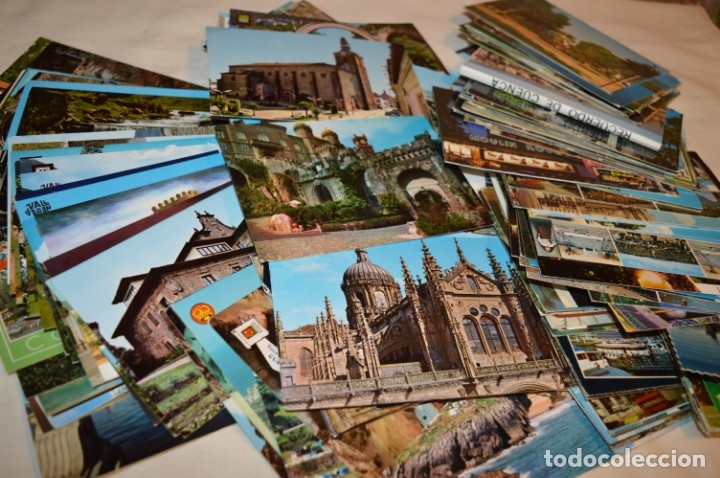 Postales: Mega LOTE GIGANTE POSTALES - 270 POSTALES VARIADAS - SIN CIRCULAR - ESPAÑA Y OTROS PAÍSES ¡Mira! - Foto 3 - 176776638