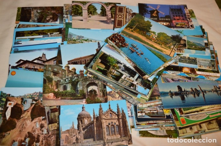 Postales: Mega LOTE GIGANTE POSTALES - 270 POSTALES VARIADAS - SIN CIRCULAR - ESPAÑA Y OTROS PAÍSES ¡Mira! - Foto 4 - 176776638