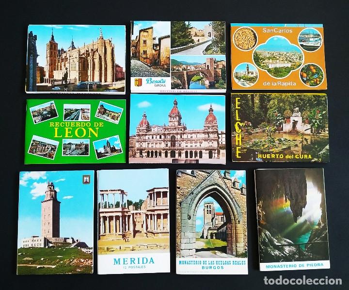 Postales: LOTE DE MÁS DE 500 POSTALES DE ESPAÑA - Foto 3 - 177279583