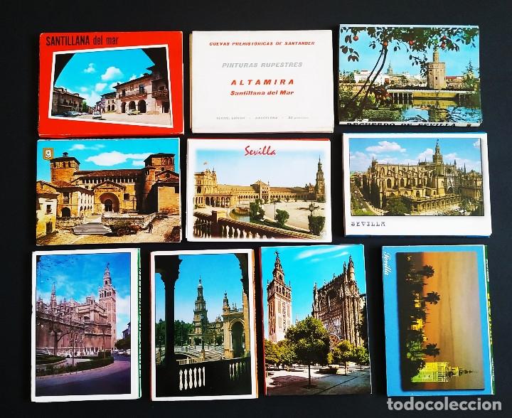 Postales: LOTE DE MÁS DE 500 POSTALES DE ESPAÑA - Foto 5 - 177279583