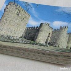 Postales: LOTE 95 POSTALES DE CASTILLOS EDICIONES VISTABELLA. MADRID.1969 SIN CIRCULAR Y TODAS DIFERENTES. Lote 177571779