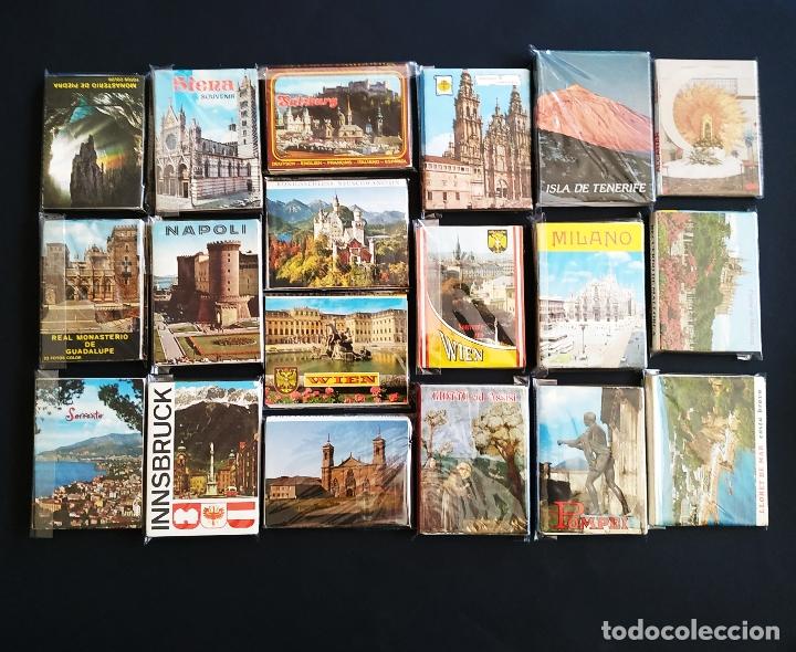 Postales: LOTE DE MÁS DE 500 POSTALES ESPAÑA Y EUROPA - Foto 3 - 177630799