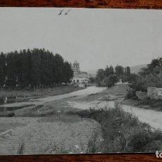 Postales: FOTO POSTAL DE PUEBLO ESPAÑOL NO LOCALIZADO, PARECE CASTILLA LEON, SEGOVIA, AVILA, BURGOS, LEON?, NO. Lote 177708863