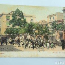 Postales: ANTIGUA POSTAL CARTAGENA PLAZA DE RISUEÑO. Lote 178274063