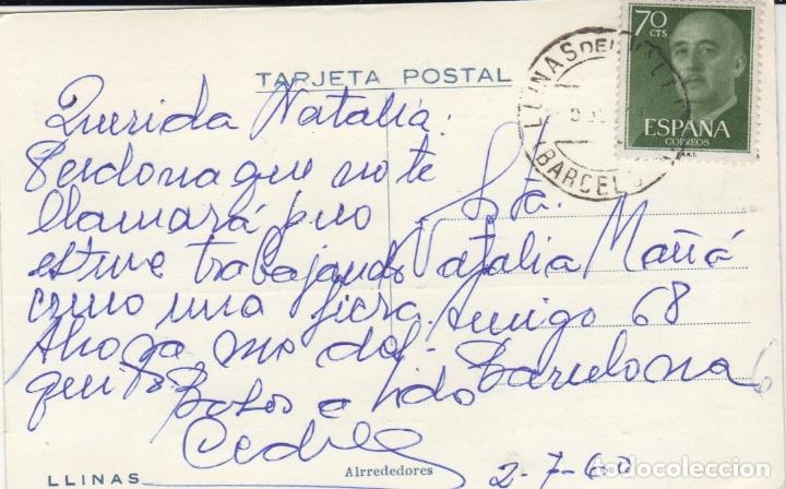 Postales: buena y rara postal de llinas alrededores - Foto 2 - 178562206