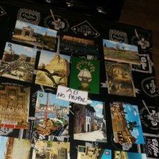 Postales: LOTE 17 POSTALES ESPAÑA MADRID CANTABRIA TOLEDO NO CIRCULADAS. Lote 178623301
