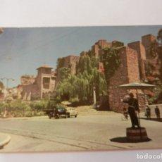 Postales: POSTAL MÁLAGA - LA ALCAZABA - AÑOS 60 - CIRCULADA. . Lote 178936796