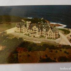 Postales: POSTAL SANTANDER - VISTA AÉREA PALACIO DE LA MAGDALENA - CIRCULADA. . Lote 178937278