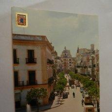 Postales: POSTAL JEREZ DE LA FRONTERA - CÁDIZ - AVDA. DE JOSÉ ANTONIO - AÑOS 60 - CIRCULADA. . Lote 178938267