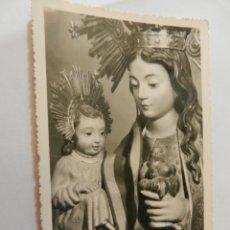 Postales: ANTIGUA POSTAL TROQUELADA AÑO 1962 - NTRA. SRA. DE ZOCUECA - PATRONA DE BAILÉN. JAÉN - CIRCULADA-. Lote 178948392
