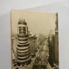 Postales: POSTAL MADRID AVDA. JOSÉ ANTONIO - AÑO 1958 - CIRCULADA. . Lote 178948788