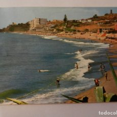 Postales: POSTAL COSTAL DEL SOL - TORREMOLINOS - PLAYA DEL DELFÍN - AÑOS 60 - CIRCULADA. . Lote 178949101
