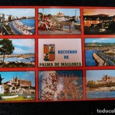 Postales: TARJETA POSTAL FOTOGRAFICA - PALMA DE MALLORCA RECUERDO BALEARES. Lote 179070146