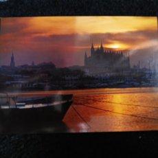 Postales: TARJETA POSTAL FOTOGRAFICA - PALMA DE MALLORCA AMANECER. Lote 179071263