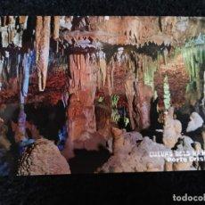 Postales: TARJETA POSTAL FOTOGRAFICA - PALMA DE MALLORCA CUEVAS DELS HAMS VALLE DE LAS DELICIAS. Lote 179072001