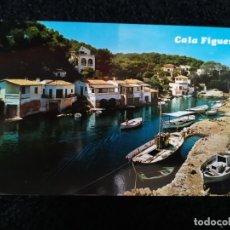 Postales: TARJETA POSTAL FOTOGRAFICA - PALMA DE MALLORCA CALA FIGUERA SANTANYI. Lote 179072630