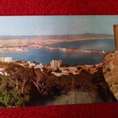 Postales: TARJETA POSTAL FOTOGRAFICA - PALMA DE MALLORCA VISTA GENERAL DESDE EL CASTILLO DE BELLVER. Lote 179072948