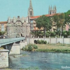 Postales: LOTE C POSTALES POSTAL BURGOS AÑOS 60. Lote 180014332