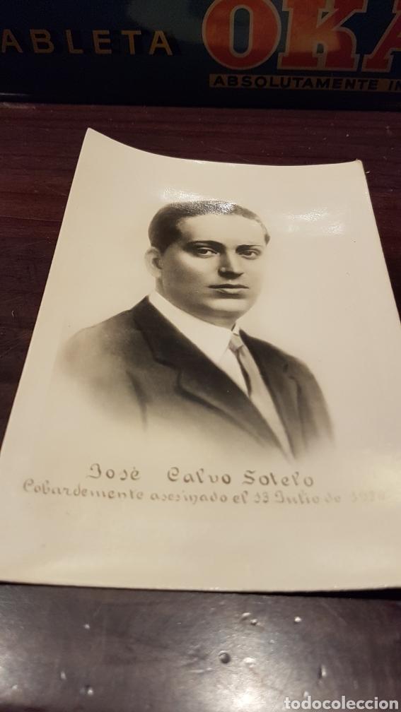 POSTAL CALVO SOTELO COBARDEMENTE ASESINADO EL 13 JULIO 1936 (Postales - España - Sin Clasificar Moderna (desde 1.940))