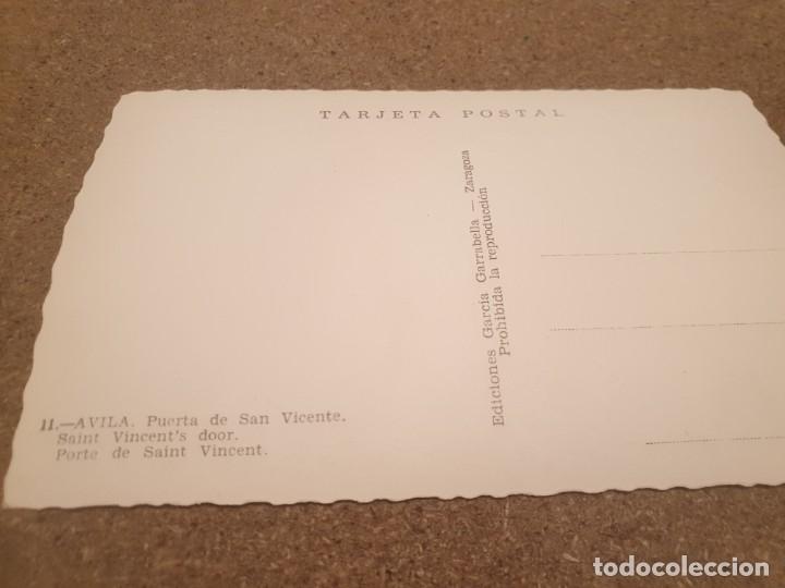 Postales: POSTALES...ANTIGUA POSTAL DE AVILA............SIN CIRCULAR.... - Foto 2 - 180953243