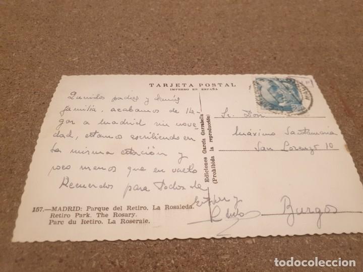 Postales: POSTALES...ANTIGUA POSTAL DEL MADRID..... ........... CIRCULADA.... - Foto 2 - 180956381