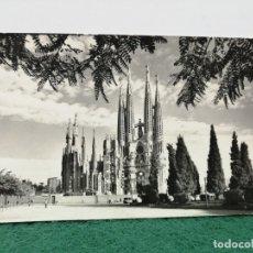 Postales: BARCELONA TEMPLO SAGRADA FAMILIA FOTOGRAFÍA CEBOLLERO . Lote 182237935