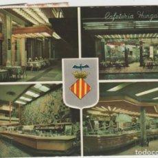 Cartes Postales: LOTE B POSTAL VALENCIA SELLOS CAFETERIA SAN REMO. Lote 185885278