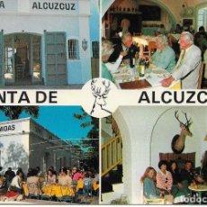 Postales: POSTAL VENTA DE ALCUZCRUZ CARRETERA SAN PEDRO-RONDA , KM 7. Lote 186072410