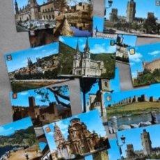 Postales: LOTE DE 21 POSTALES SIN CIRCULAR DE LA COLECCIÓN ESCUDO DE ORO.. Lote 135084026