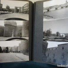 Postales: ÁLBUM 197 FOTOS POSTALES AÑOS 50. BADAJOZ MÉRIDA ÁVILA ANTEQUERA SALAMANCA PORTUGAL, MÁLAGA. 1,1 KG . Lote 187227466