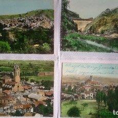 Postales: LOTE POSTALES COLOREADAS ESCRITAS POR DETRAS Y DELANTE. Lote 187374767