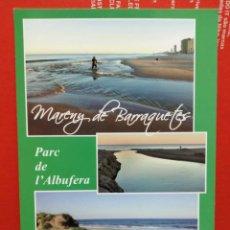 Postales: POSTAL PARQUE DE ALBUFERA SIN USAR . Lote 191233040