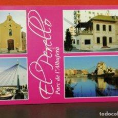 Postales: POSTAL PARQUE DE ALBUFERA EL PERELLO SIN USAR . Lote 191233045