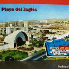 Postales: POSTAL PLAYA DE JOGLES GRAN CANARIAS ESCRITA . Lote 191233050