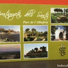Postales: POSTAL PARQUE DE ALBUFERA SIN USAR . Lote 191233053