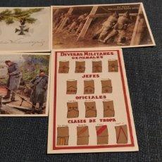 Postales: LOTE DE 4 POSTALES DE LA HISTORIA GRÁFICA DEL SIGLO XX. Lote 194958930