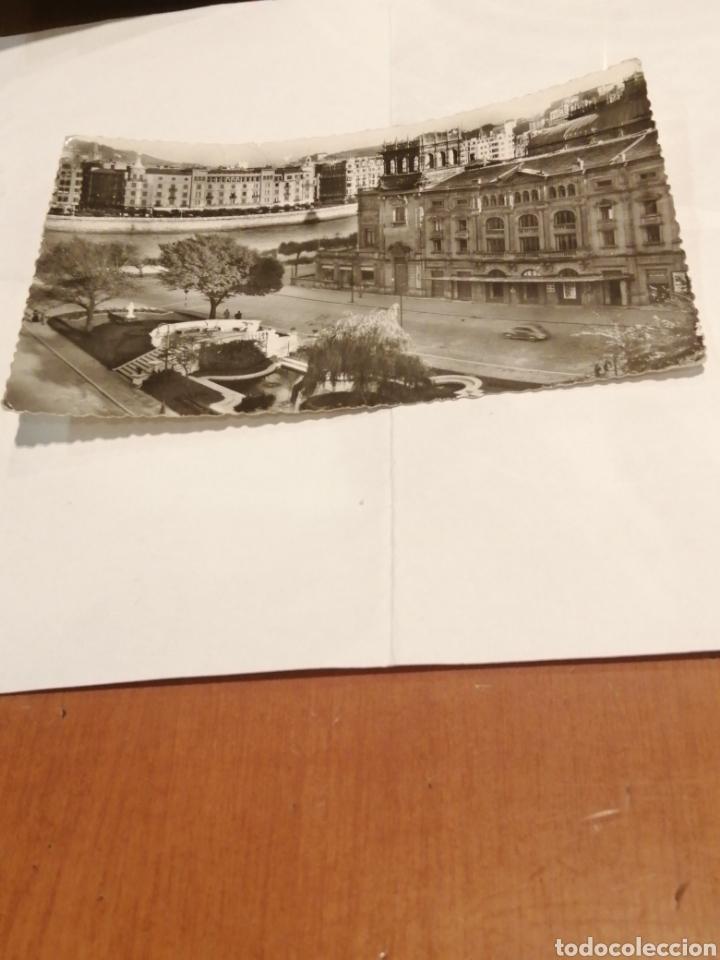 JARDINES REINA REGENTE. SAN SEBASTIAN. CIRCA 1954. (Postales - España - Sin Clasificar Moderna (desde 1.940))