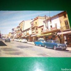 Postales: ANTIGUA POSTAL DE FRONTERA FRANCO ESPAÑOLA. LA JUNQUERA. LE PERTHUS. AÑOS 60. Lote 195015827
