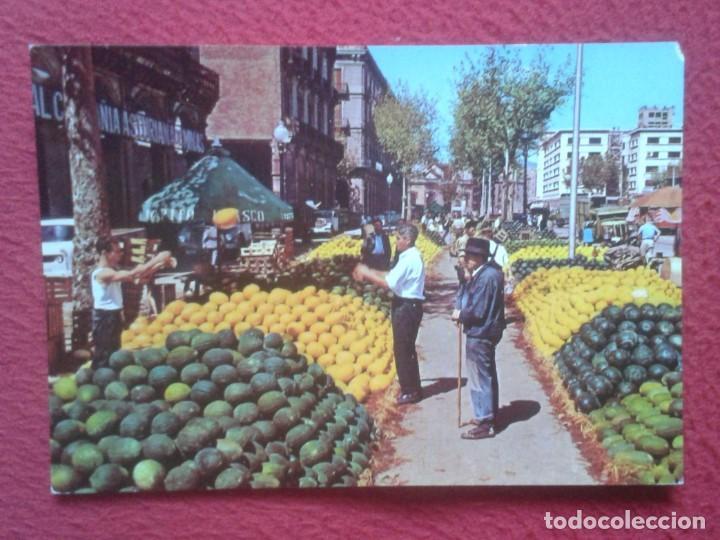 POSTAL POST CARD Nº 652 ESPAÑA TÍPICA MERCADO PUESTO DE MELONES UN MARCHÉ MELONS MARKET MELONENMARKT (Postales - España - Sin Clasificar Moderna (desde 1.940))