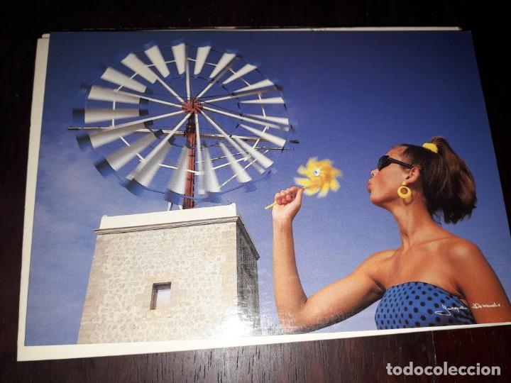 Nº 36288 POSTAL ESPAÑA CHICA ENERGIA DE VIENTO FOTO JACQUES ALEXANDRE (Postales - España - Sin Clasificar Moderna (desde 1.940))