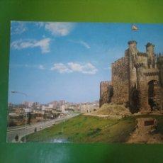 Postales: POSTAL EDITORA ARRIBAS. 38 PONFERRADA CASTILLO. Lote 195635573