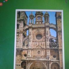 Postales: ASTORGA ( FACHADA PRINCIPAL DE LA CATEDRAL ). Lote 195636920