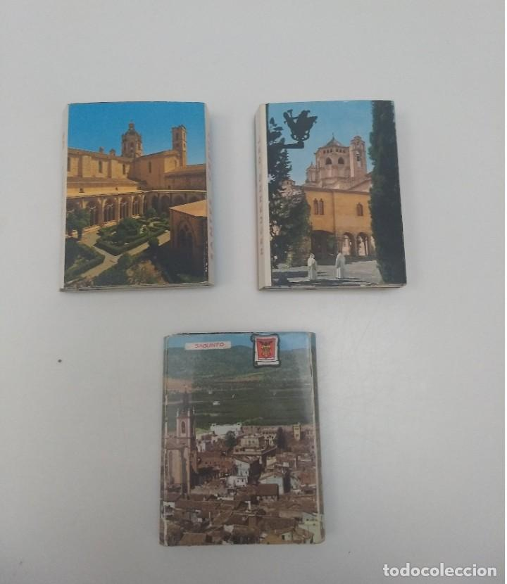 LOTE DE 3 ACORDEONES DE POSTALES (EN TOTAL 54 POSTALES) (Postales - España - Sin Clasificar Moderna (desde 1.940))