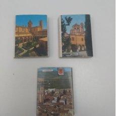 Postales: LOTE DE 3 ACORDEONES DE POSTALES (EN TOTAL 54 POSTALES). Lote 196908376