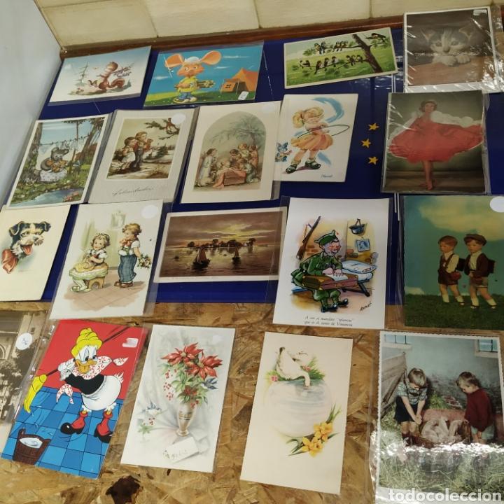 Postales: 19 postales años 50 y 60 - Foto 2 - 197653685