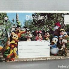 Postales: POSTAL LIBRO ACORDEÓN DISNEYLAND . Lote 197970150