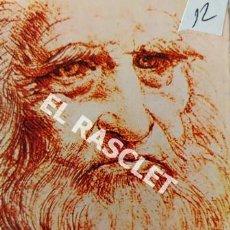 Postales: ANTIGÜO ALBUM ACORDEÓN DE POSTALES COLOR DE INVENTOS DE LEONARDO DE VINCI. Lote 198120923
