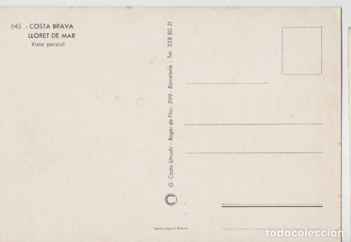 Postales: LOTE B-POSTAL LLORET DE MAR CATALUÑA COCHES - Foto 2 - 199100940
