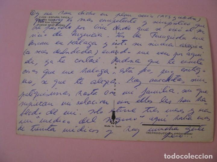 Postales: POSTAL DE ESPAÑA. BURRITO TIPICO. ED. SAVIR. ESCRITA. - Foto 2 - 199158322